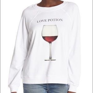 New Wildfox Love Potion Sommers Sweater Sz Medium
